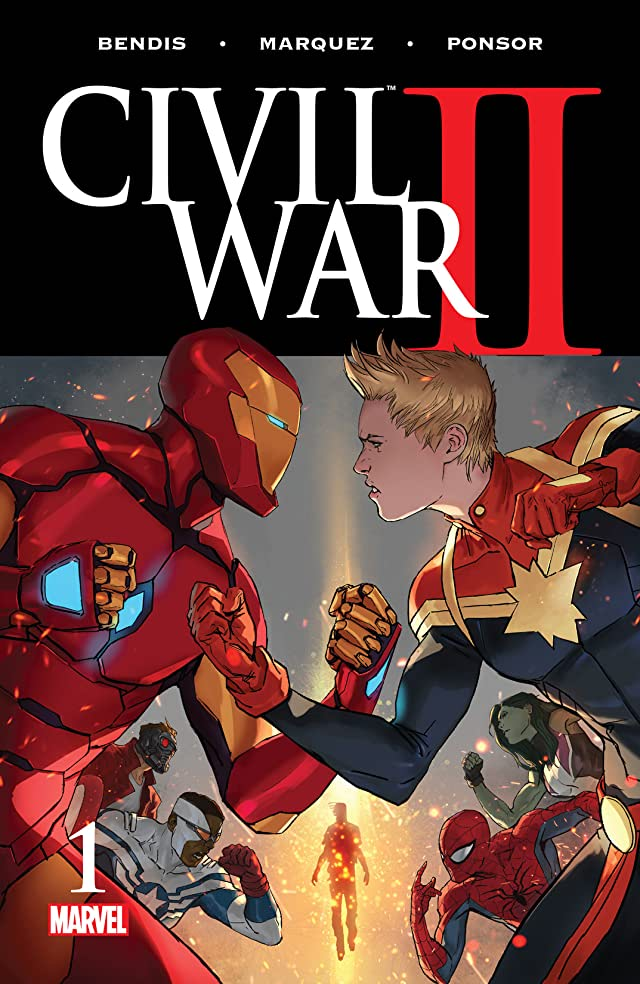 TICGN Civil War II (2016-) #1 (of 7)