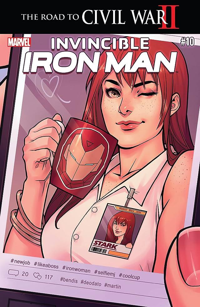 TICGN Invincible Iron Man (2015-) #10