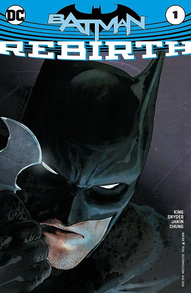 TICGN Batman: Rebirth (2016) #1