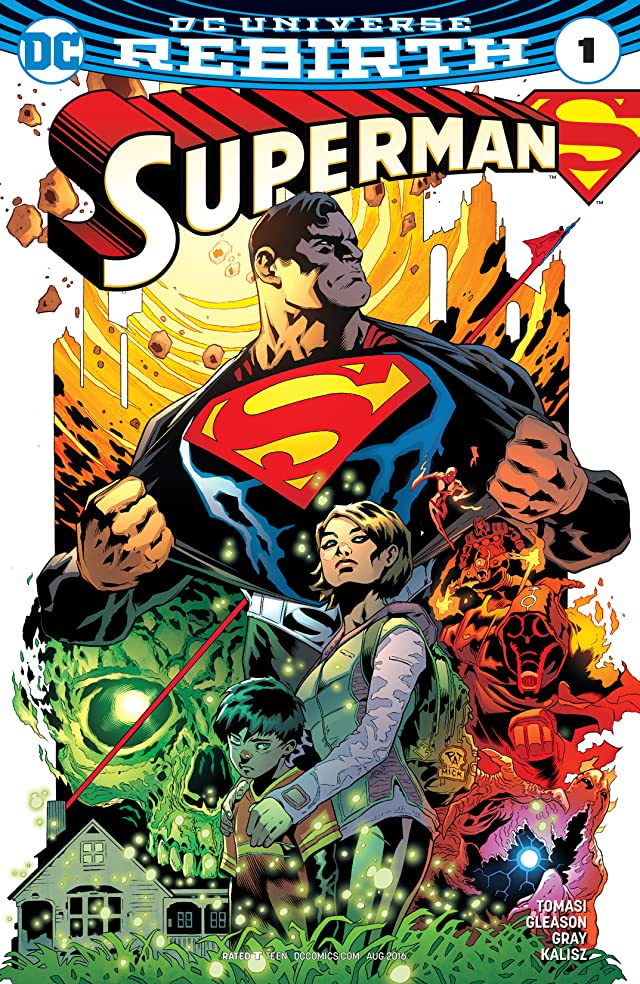 TICGN Superman (2016-) #1