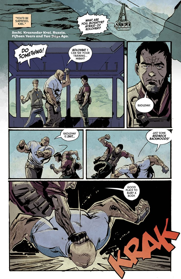 Crude Vol. 1 review: A visceral experience