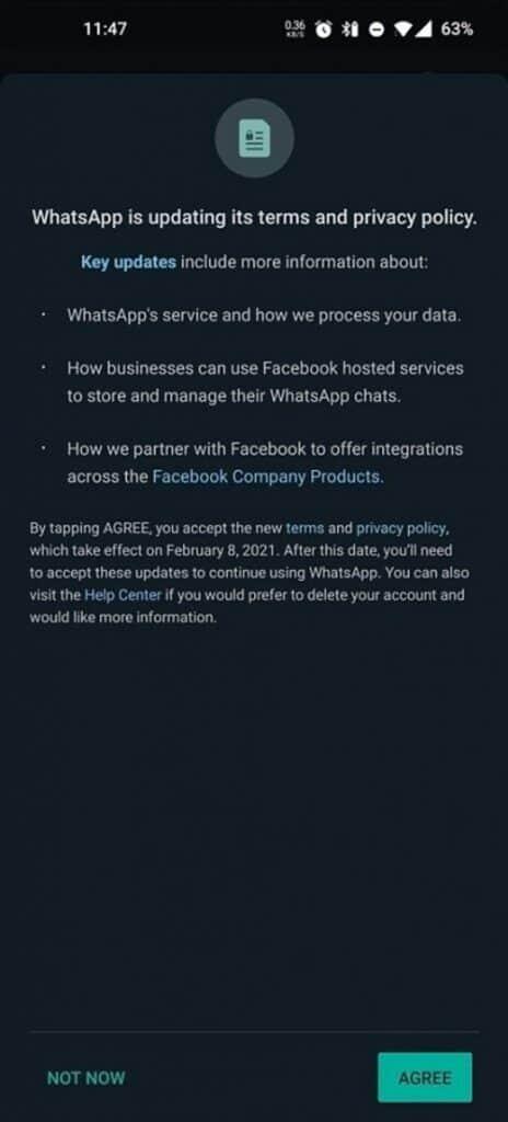 強制跟 Facebook 共享用家資訊。WhatsApp 更改私隱政策 | Now 新聞