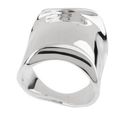 RLM Studio Sterling Molten Design Band Ring