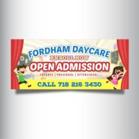 Design a banner for a New Daycare | Signage contest
