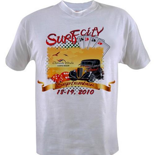 Classic Car Show  Tshirt contest