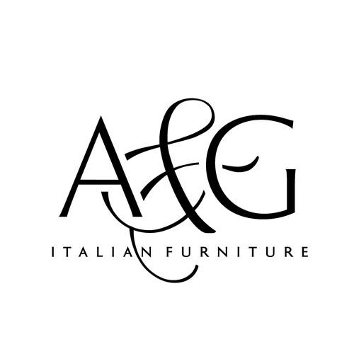 AampG Italian Furniture Logo Design Contest
