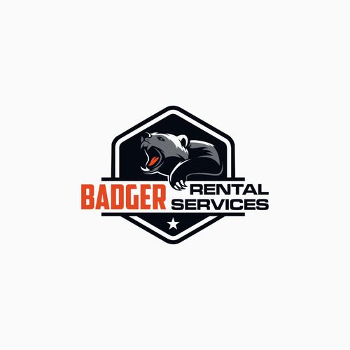 Help Badger Rental Services design a new logo