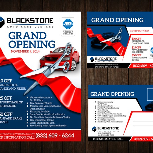 grand opening automotive repair