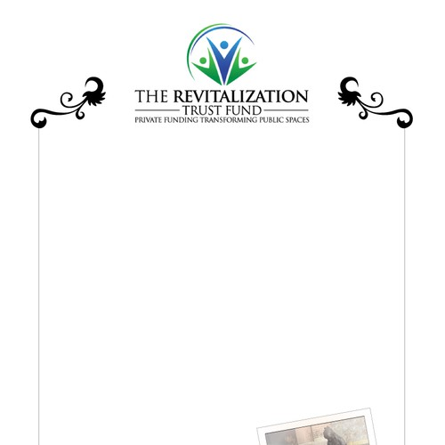 print or packaging design for The Revitalization Trust