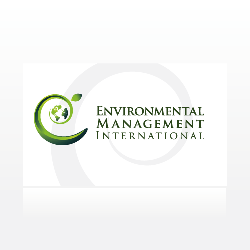 logo and business card for Environmental Management