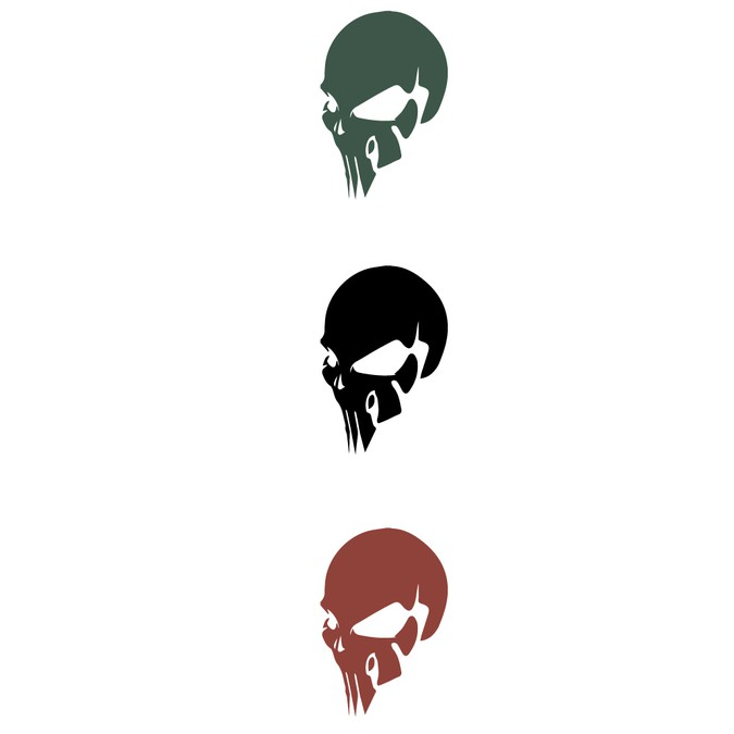 create a badass skull