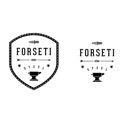 Create Logo for authentic, hand-made, old world knife