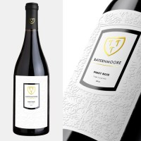 Design a creative and elegant wine label for our first ...