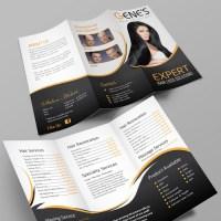 Create a winning brochure design for an established Hair ...