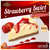 Strawberry Swirl Cheesecake Package Design   Product ...