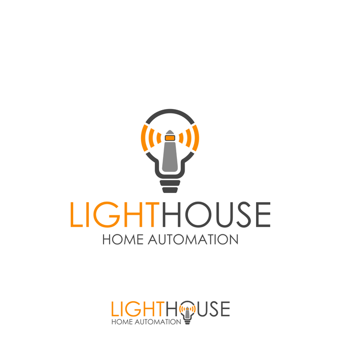 Modern, warm, friendly Logo for Home Automation Contractor
