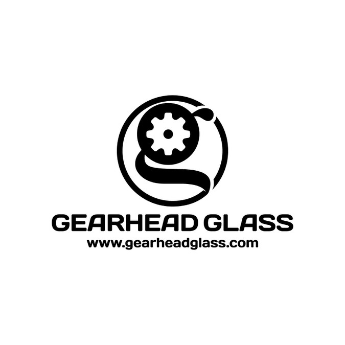 sticker and pipe logo for small start-up glassblowing
