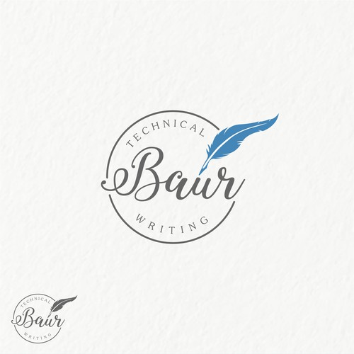 Baur Technical Writing needs a simple logo with fun and