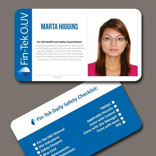 id card design business