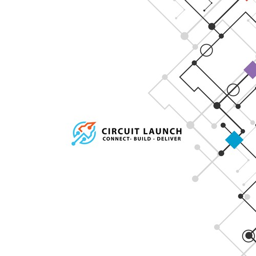 Wire up a Logo for Circuit Launch (hub for electronics