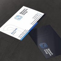 Flash new business card for IT startup   Business card contest
