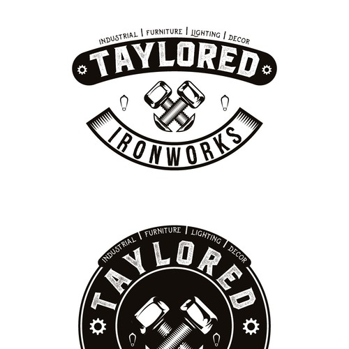 Vintage Industrial style desing needed for Taylored