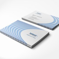Business card design for Semiconductor technology startup ...
