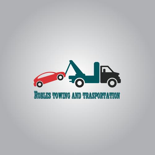 towing truck logo logo