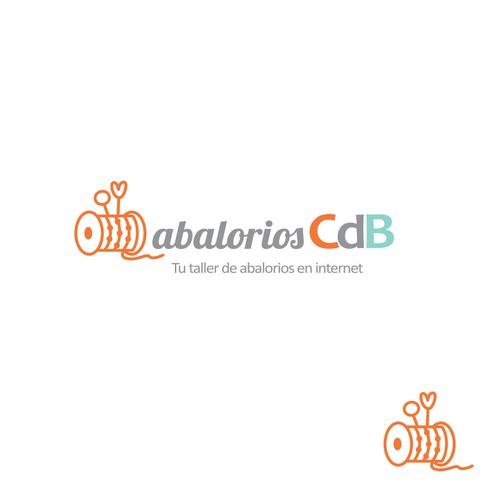 Crea un Logo para una tienda de abalorios y manualidades