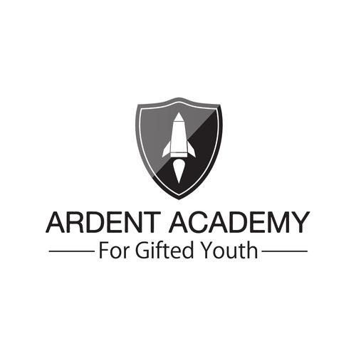 Create a new logo for Ardent Academy, a K-12 STEM