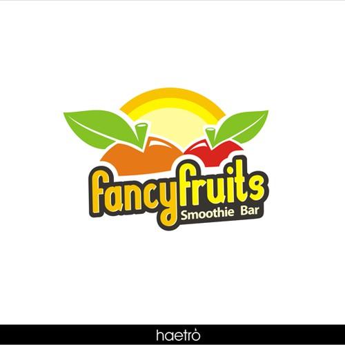 fancy fruits logo design