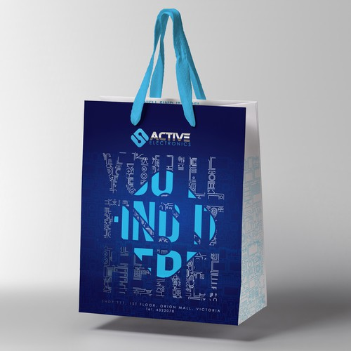 Download this polythene shopping bag mockup free psd and use it to visualize the final preview of your packaging designs on a plastic bag. Paper Bag Design Merchandise Contest 99designs
