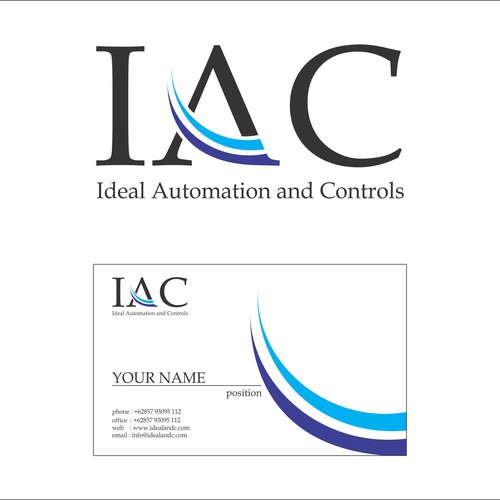Create the next logo and business card for Ideal