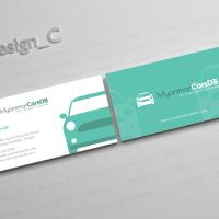 Online Car Classifieds Startup Business Card   Business ...