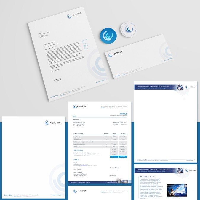Quickbooks Forms Background, And Letterhead Template