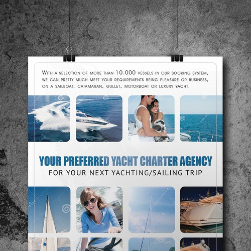 Magazine Advertisement For Yachting Europe Other Business Or Advertising Contest 99designs