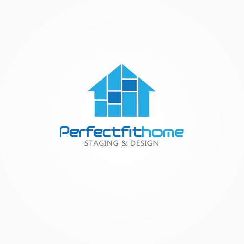 Perfect Fit Home Staging & Design needs a new logo