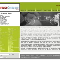 Difficult Design Task: New homepage for FurnaceCompare.com ...
