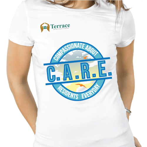 T Shirt Design For Nursing Home Nurses To Wear On Casual Friday