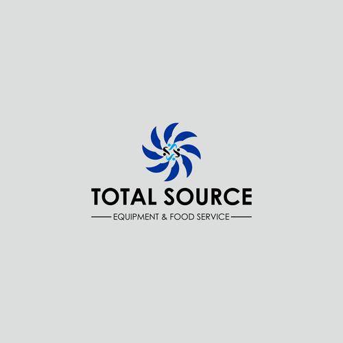 Sleek, clean, professional food service equipment logo