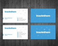 Business cards for innovative tech startup   Business card ...