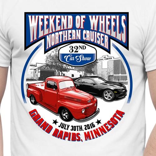 Car Show Event tshirt  Tshirt contest