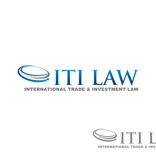 Create a logo for a small, new international law firm