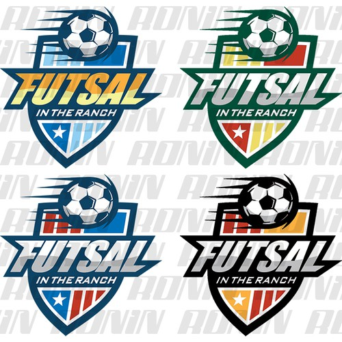 Create a logo for a new Futsal League for kids  Logo