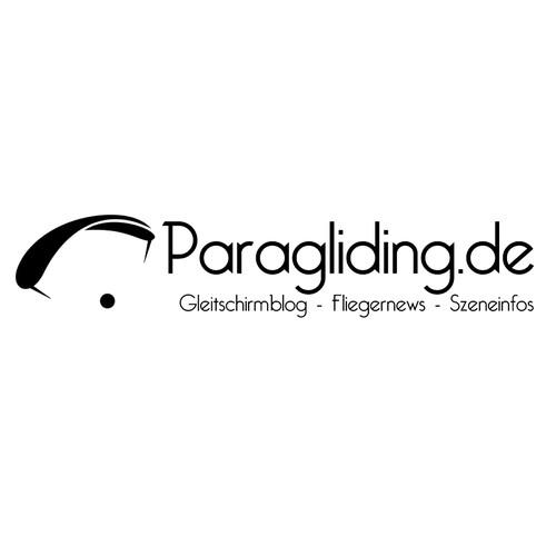 Unique logo for paragliding blog / einzigartiges Logo für
