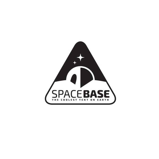 Create a logo for Space Base a festival and car camping