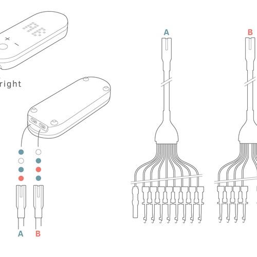 User Manual Illustration for Medical Device StartUp