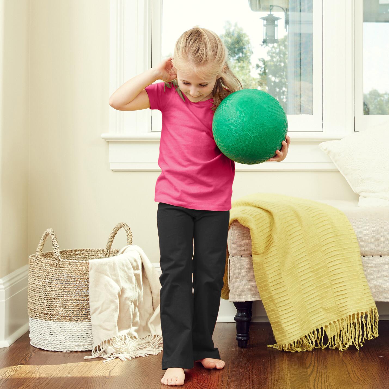 Kids Yoga Pants - Solid Color Pant