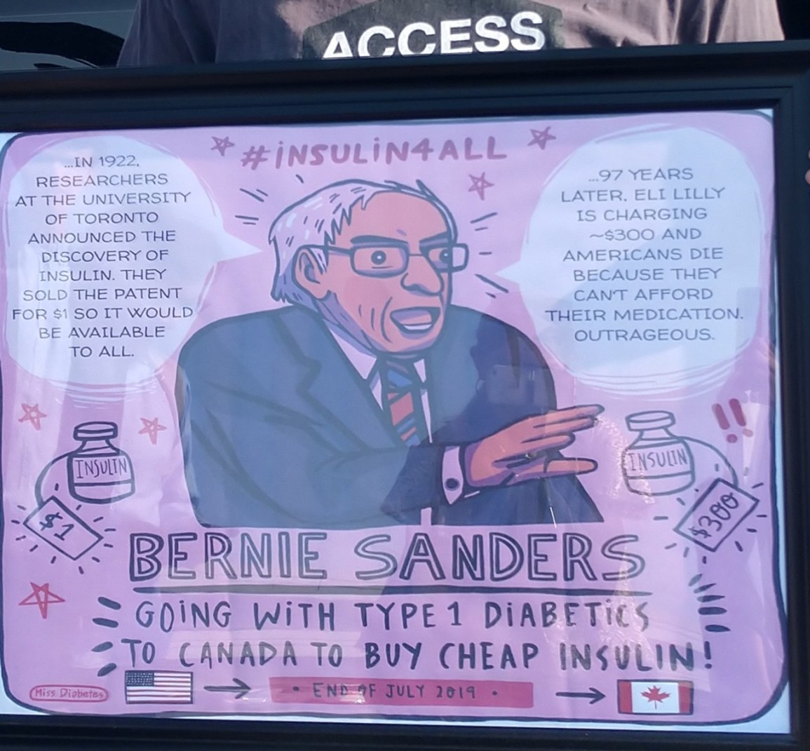 Moving the Needle on Insulin Pricing: the Bernie Sanders Bus and Beyond
