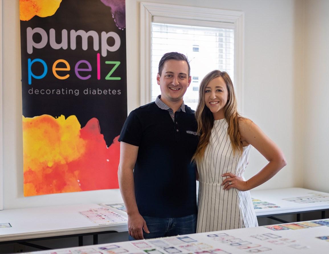 PumpPeelz: Couple Makes Diabetes Devices 'A Little Less Drab'